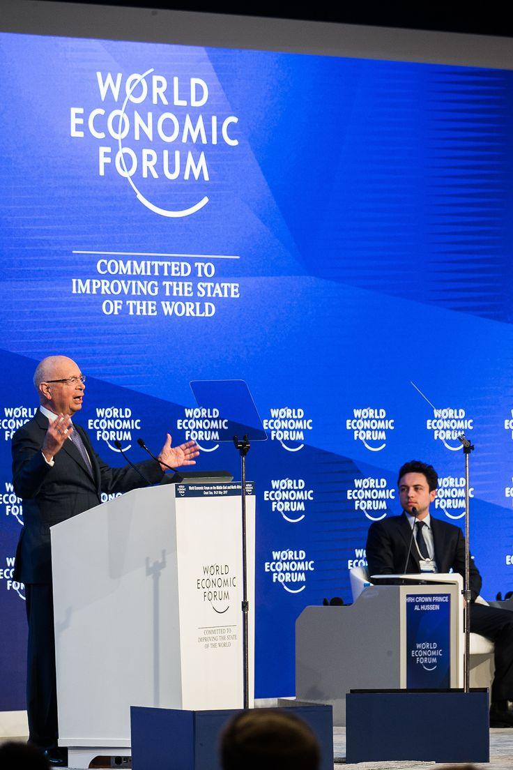 https://flic.kr/p/UoGFyb | Opening Plenary | Klaus Schwab, Founder and Executive Chairman, World Economic Forum at the World Economic Forum on the Middle East and North Africa 2017. Copyright by World Economic Forum / Benedikt von Loebell