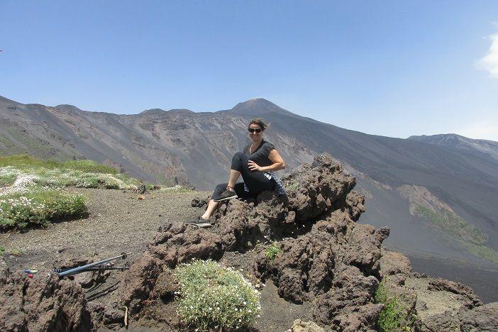 Vulcão Etna - trilha fácil para visitar a cratera