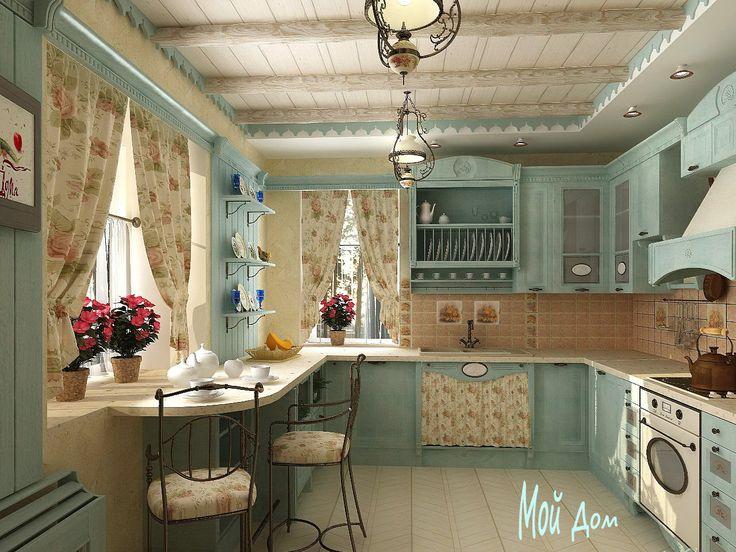 Дизайн кухни, стиль прованс