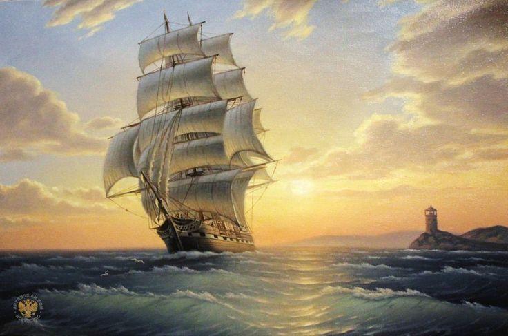 корабли на картинах - Поиск в Google