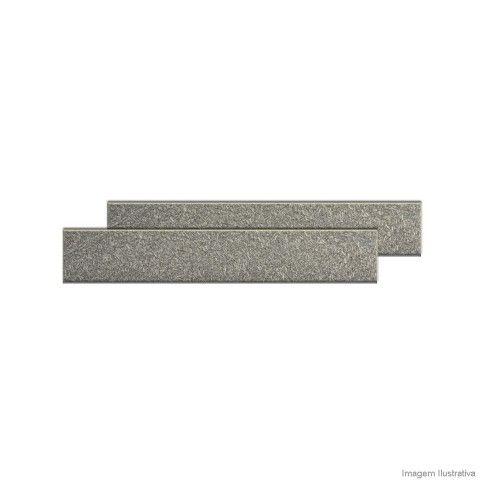 Soleira de granito 82x14cm cinza Granífera - Telhanorte