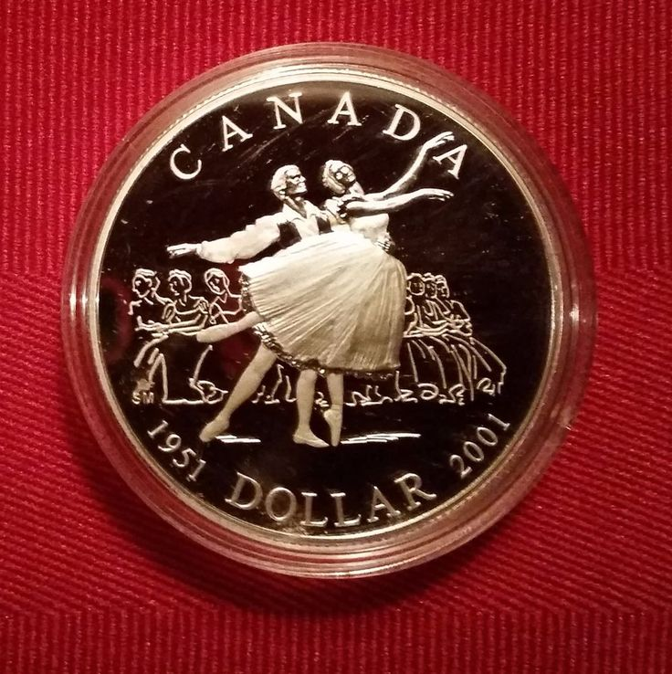 2001 Canada 50th Anniversary of the National Ballet Proof Silver Dollar | eBay