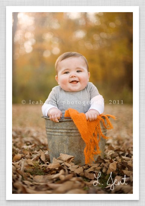 Cutest baby ever beautiful fall color yummy light one happy photographer