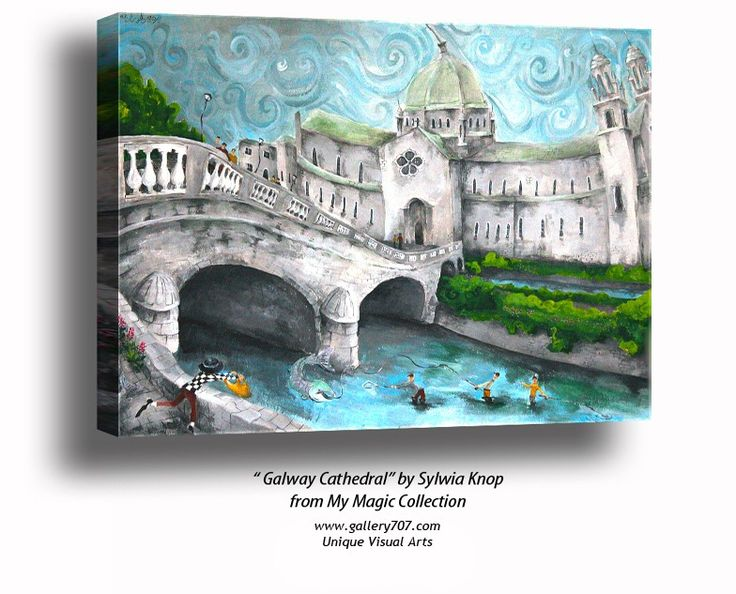 Galway Cathedral' by Sylwia Knop from My Magic Ireland Collection