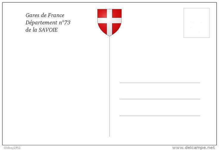 Gare De Grésy-sur-Aix , Savoie - Une Photo Reproduite Carte Postale - Gares…
