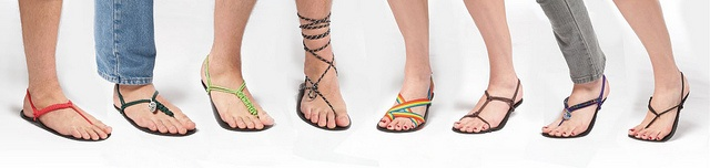 Now THIS shows you all the fun things to do with Invisible Shoes barefoot running sandals -- http://www.invisibleshoe.com