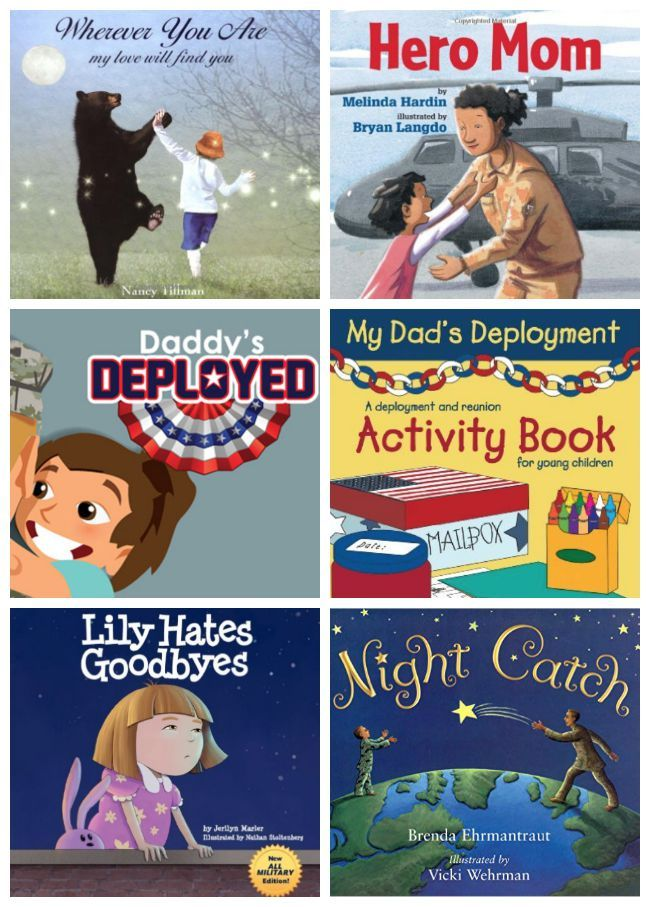 Great books to help kids prepare for and stay connected during a deployment. Also help with frequent moves and PCS stress. Must haves for military kid libraries.