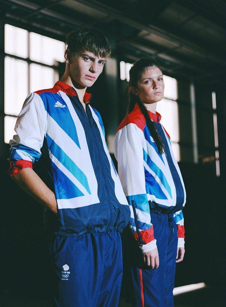 BEN and AMALIA wear Team GB kit by STELLA MCCARTNE