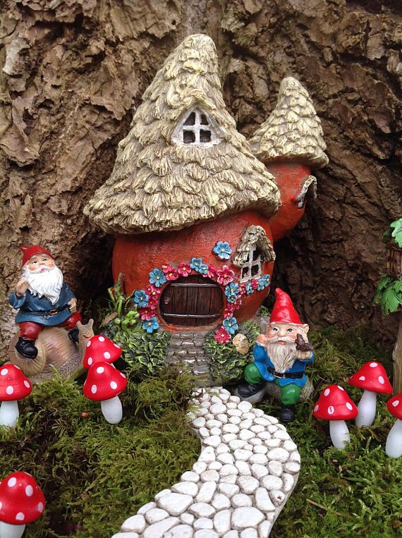 fairy house for miniature fairy garden gnome home enchanted - Gnome House S Design