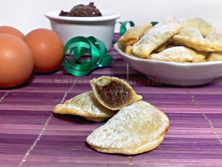 Ravioli dolci cece e cacao, frittura di Carnevale | Oltre le Marche