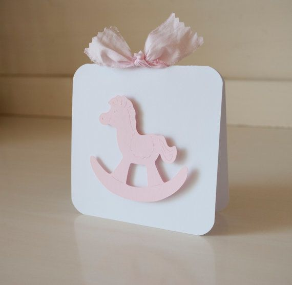 Rocking Horse Invitations Thank You Cards Baby by CardinalBoutique, $74.00