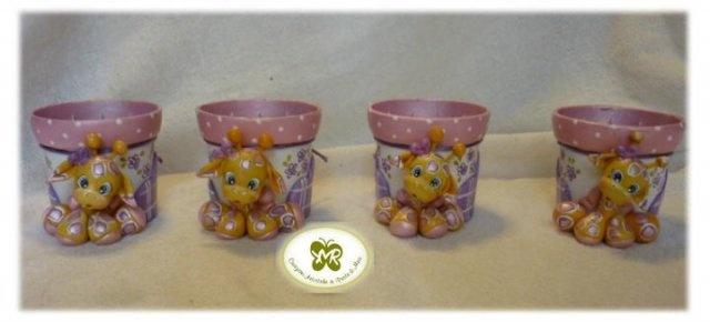Idee regalo e bomboniere in pasta di mais - Vasetti Porta Piantina