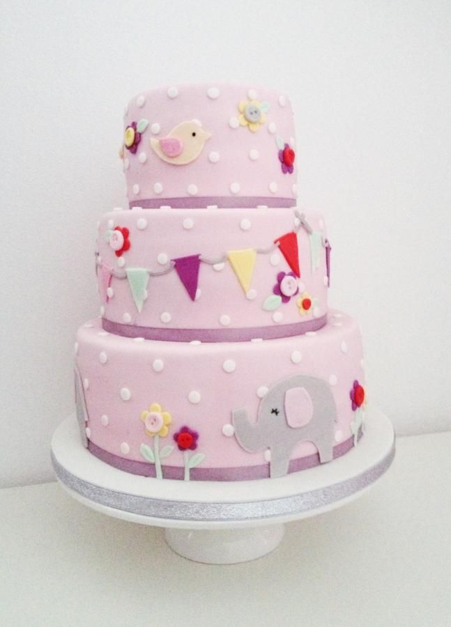 Baby girl cake by Dasa