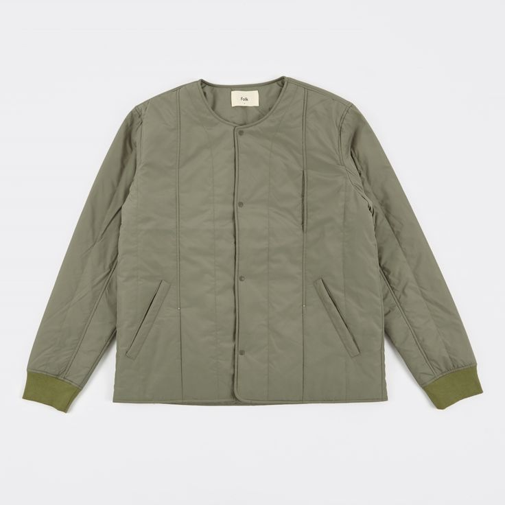 Folk Owen Jacket - Soft Military Green