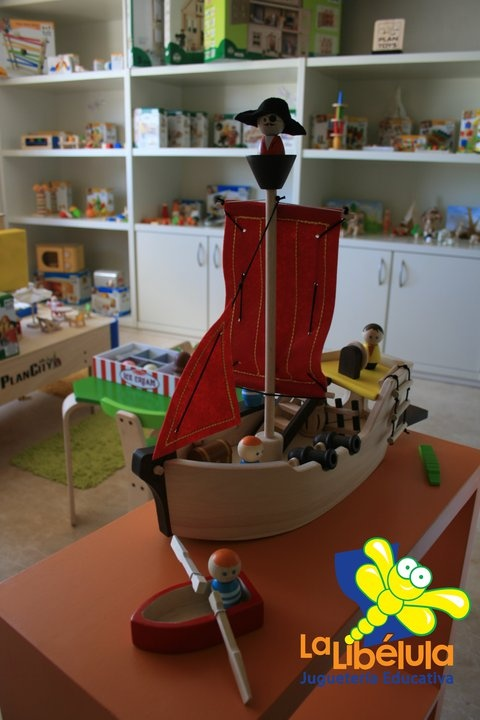 Este Barco Pirata de La Libelula nos encanta.