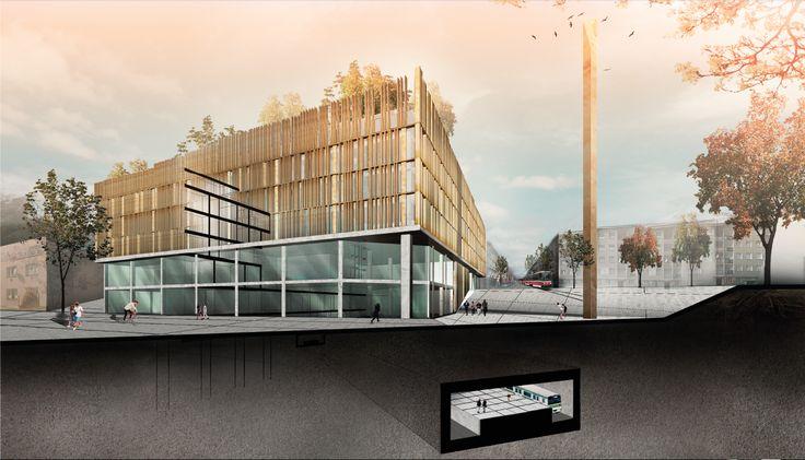 Autor: Absolventka kurzu a držitelka Žluté karty za nejlepší projekt v LS 2014. Tereza Stambolijská Projekt: Radnice na Prahe 10 LS2015