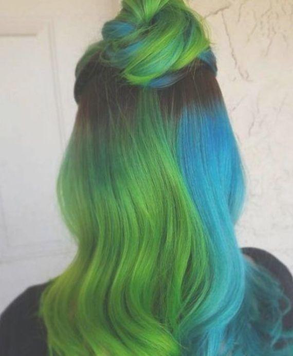 Cute Dyed Hair 32 Split Dyed Hair Dyed Hair Hair Styles
