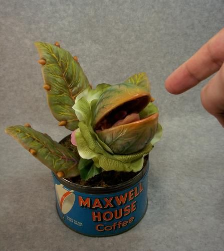 So cool! A resin model kit of baby Audrey from Little Shop of Horrors, about $60 www.funflicks.com