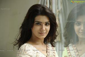 Beautiful Samantha in Saree - High Resolution Posters