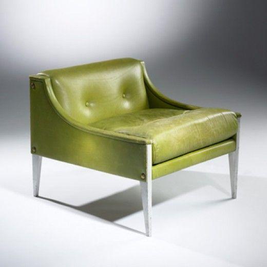 Gio Ponti, #12 Lounge Chair for Poltrona Frau, 1966.