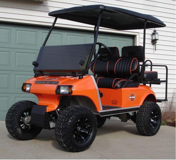 Lifted Golf Cart~