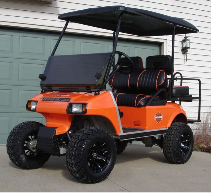 Lifted Golf Cart~ | off road golf cart mods | Pinterest ...