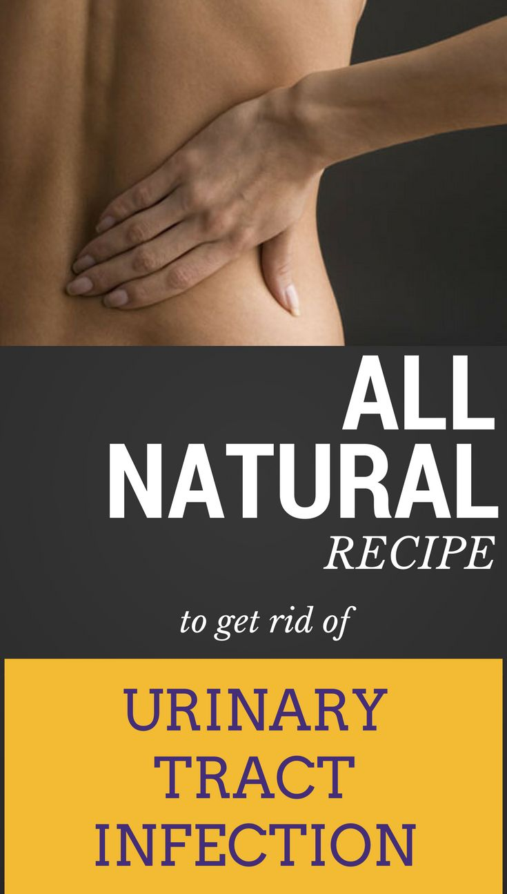 Natural Ways Get Rid Urinary Tract Infection