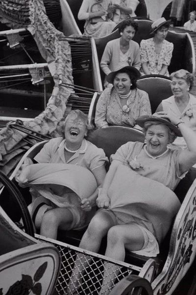 ... you can choose to live your life with the joy of the front row or solemness of the third