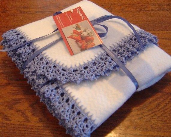 164 Best Fleece Images On Pinterest Blankets Fleece Blanket
