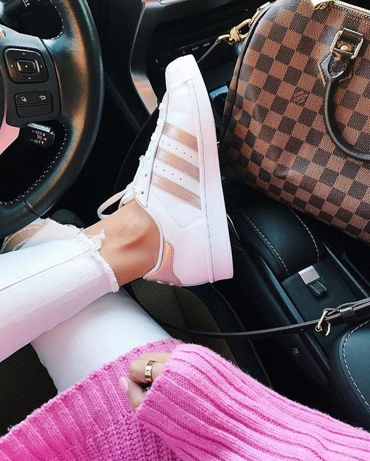 Rose Gold Adidas || Emily Ann Gemma