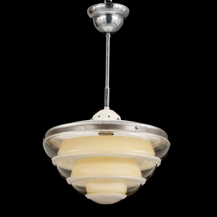 Swedish (?) CEILING LIGHT, functionalism, around 1930 Century