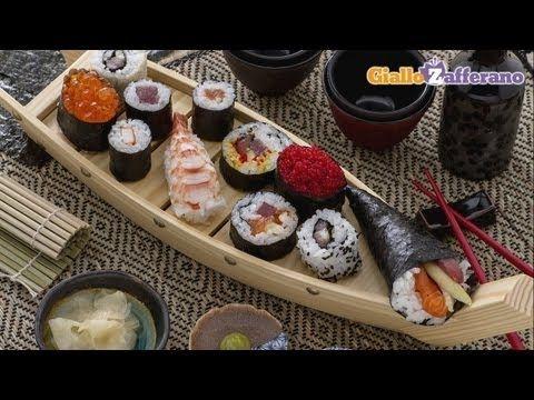 Sushi fai da te in casa - preparazione del riso, la ricetta di Giallozafferano - YouTube