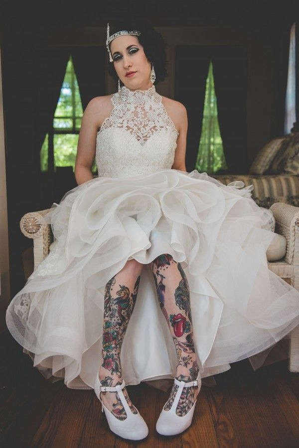 53 best Tattooed Brides images on Pinterest | Tattooed brides, Manor ...