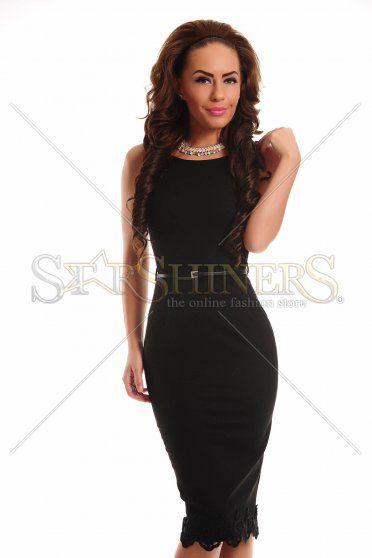 PrettyGirl Paradise Black Dress