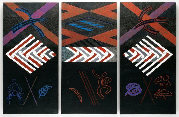 Taki Toru triptych by Sandy Adsett
