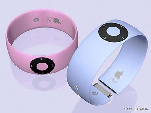 MP3 Players as Jewelry - The iPod Shuffle Bracelet (GALLERY)