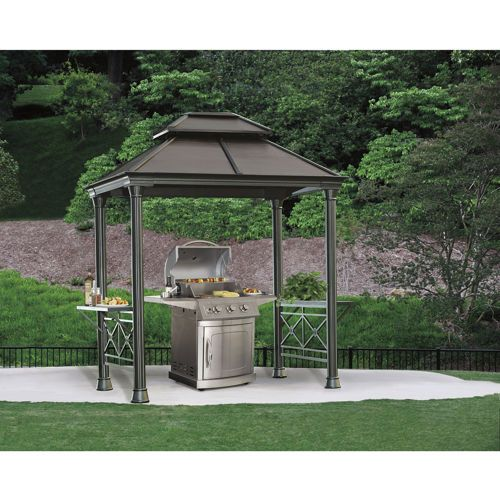 Grill Gazebo at Costco $899   outdoor living   Pinterest ...