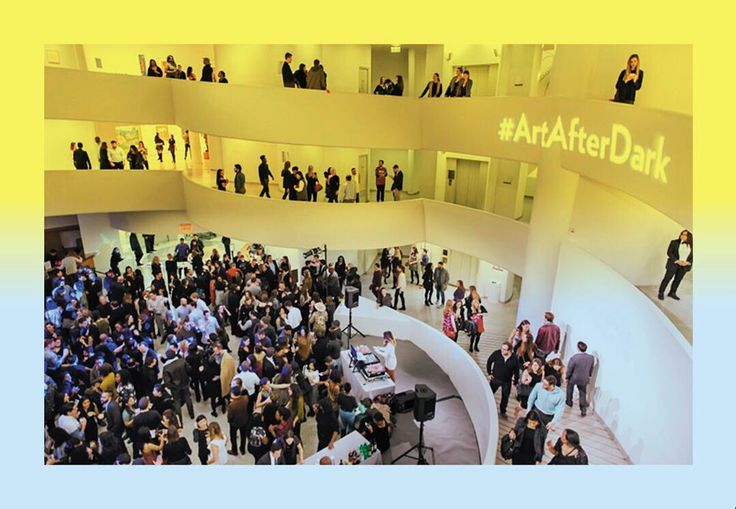 #ArtAfterDark on July 7 is sold out, but become a member at the Individual level or above and you're in! Enjoy the museum after-hours, plus a live set by @djmOma. Join now at guggenheim.org/JulyAADMember #Guggenheim Photo: Scott Rudd
