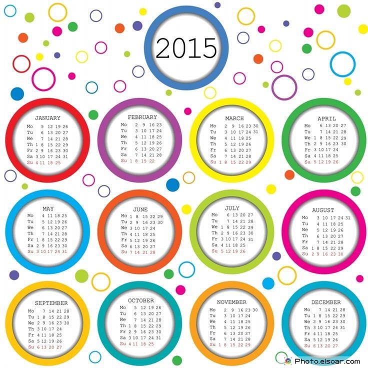 28 Best Calendarios Images On Pinterest 2015 Calendar Calendar