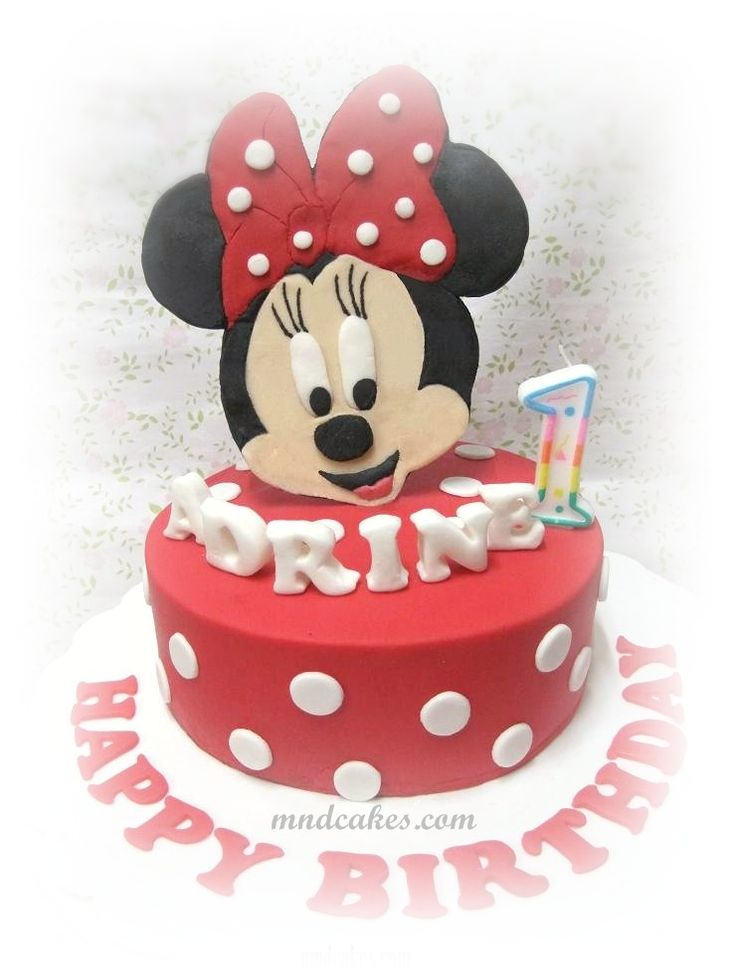 Cake Designs Minnie Mouse : 59 best Minnie Mouse cakes images on Pinterest Minnie ...