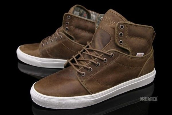 Vans Leather High Tops