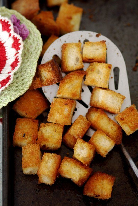 How To Make Croutons for Soups & Salads — Cooking Lessons from The ...