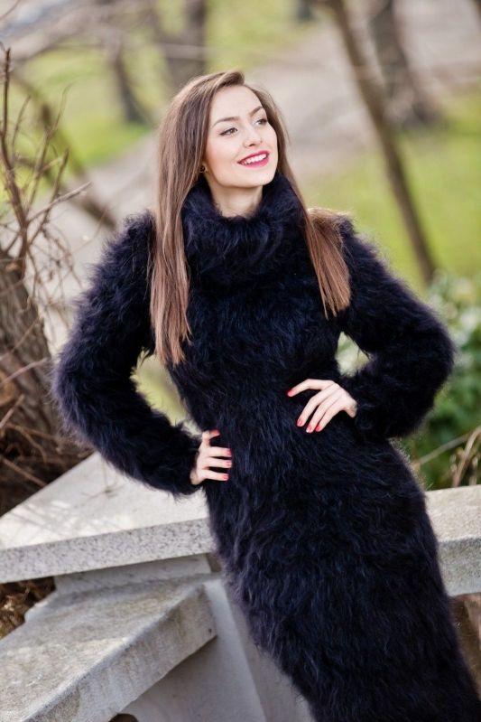 black mohair dress mohairtraum pinterest black