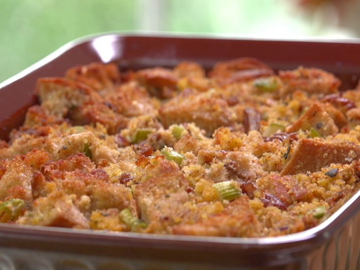 Best 25 jamie deen ideas on pinterest food network cornmeal country cornbread dressing with pecans forumfinder