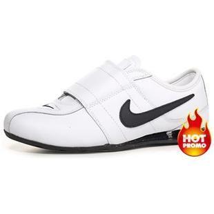 ... Mens Nike Shox R3 Velcro White Black I