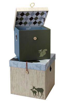 Aufbewahrungsboxen Pappe  Forest