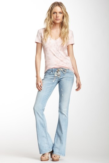 Bobby Lace-Up Flare Leg Jean by True Religion on @HauteLook