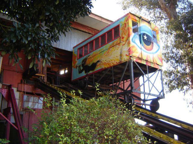 Ascensor Artillería   Ascensores de Valparaíso
