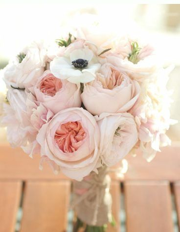 LOVE THIS!!!!! Especially if you go with pink and navy!!! Blush wedding bouquet
