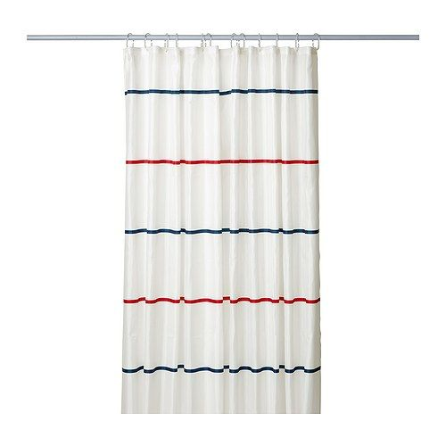 red and blue shower curtain. MYRVIKEN Shower curtain IKEA The fabric is densely woven and coated to  repel water 13 best SHOWER CURTAINS images on Pinterest Bath shower